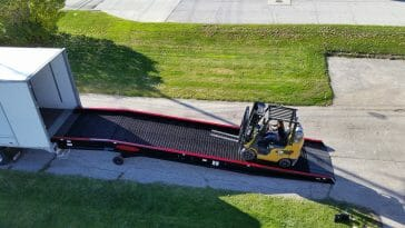 Heavy Equipment Loading Ramps