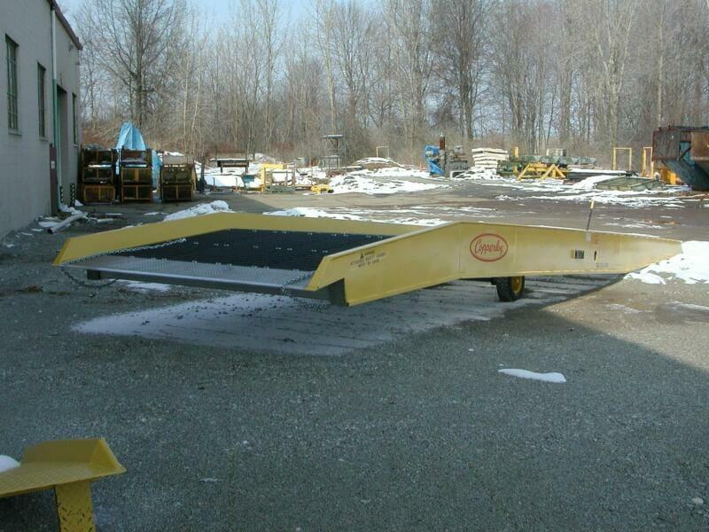 loading dock equipment mobile ramps