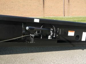 Copperloy® hydraulic pump on yard ramps