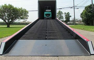 Copperloy® Mobile Yard Ramps Low End Plate