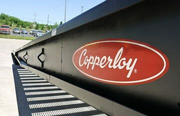 side plate design on Copperloy® yard ramps