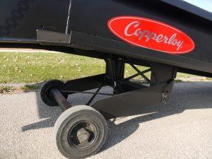 Copperloy Mobile Yard Ramp Pneumatic Tires
