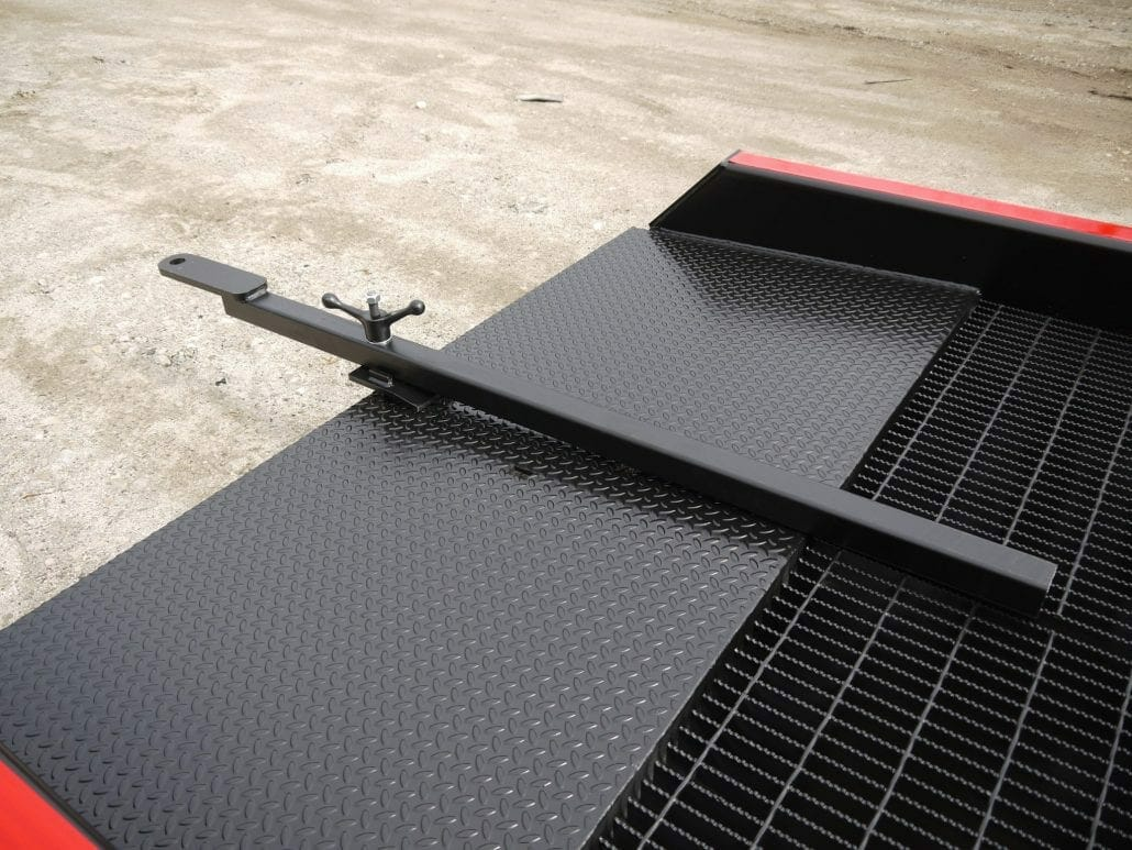 How to Move a Portable Truck Ramp   Tow Bar