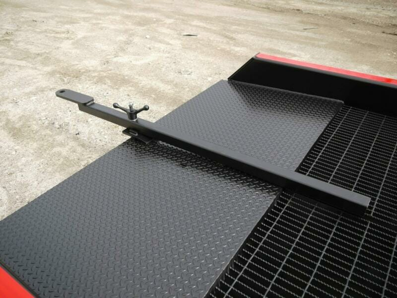Copperloy® forklift ramp tow bar to easily move the yard ramp with your tow motor or forklift