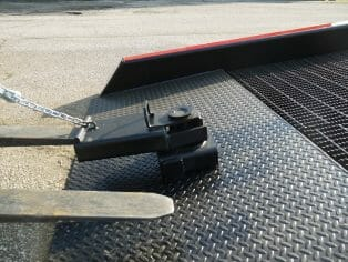 Positioning Sleeve Copperloy® Mobile Yard Ramps