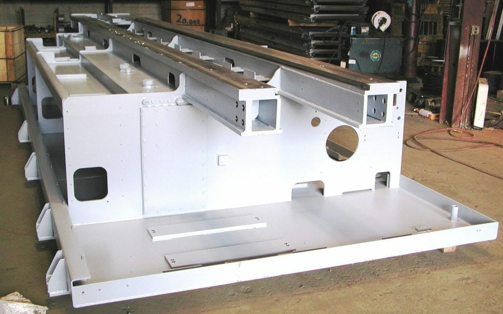 custom steel fabrication equipment