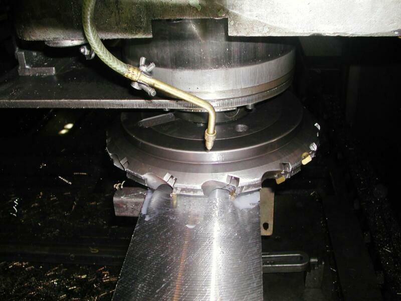 precision machining equipment cutter