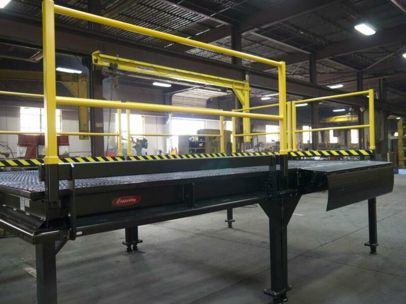 Custom Loading Dock Platform from Copperloy®