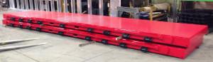 custom design rebar pallet