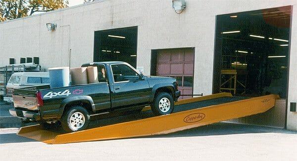 yard ramp and loading dock in Arizona