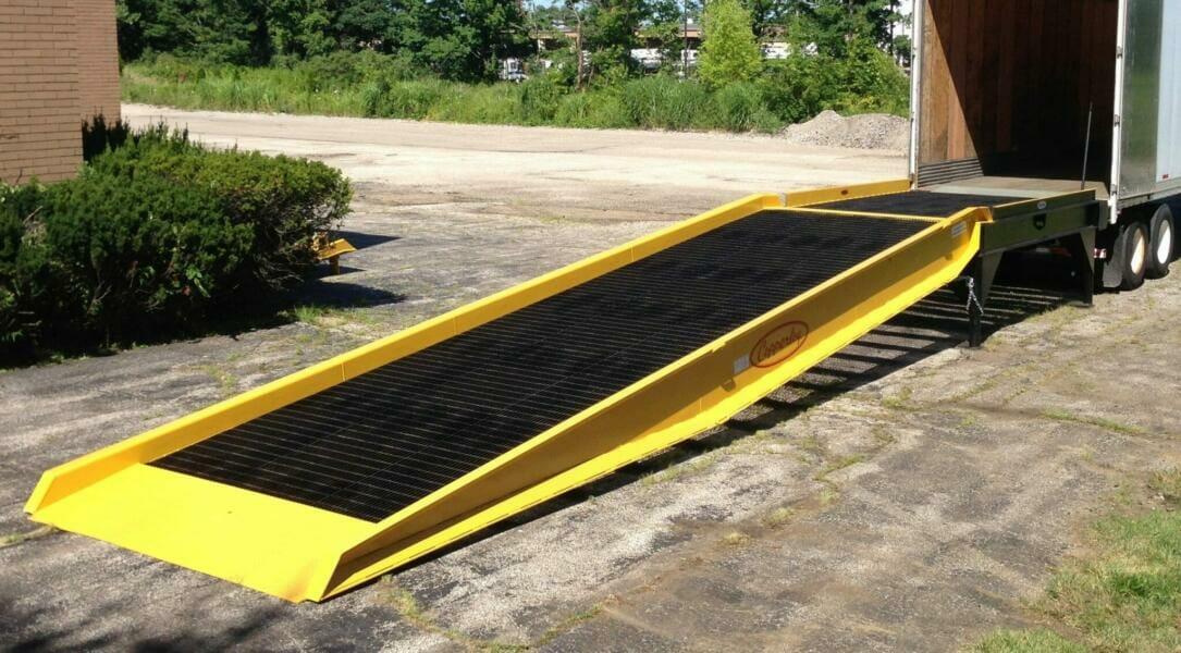 Connecticut yard ramps
