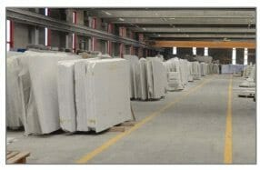 slabs of marble for the World Trade Center