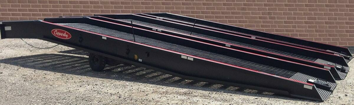 Used Yard Ramps from Copperloy®
