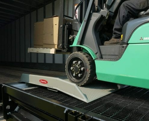 Dock Board for Forklift Loading