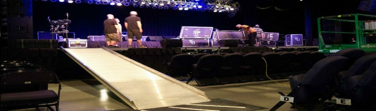 Stage Ramps from Copperloy®