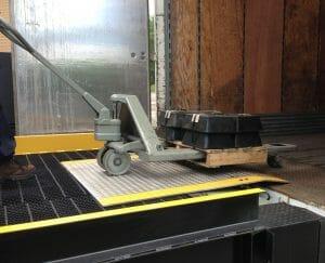 Dock Plate for Loading Dock