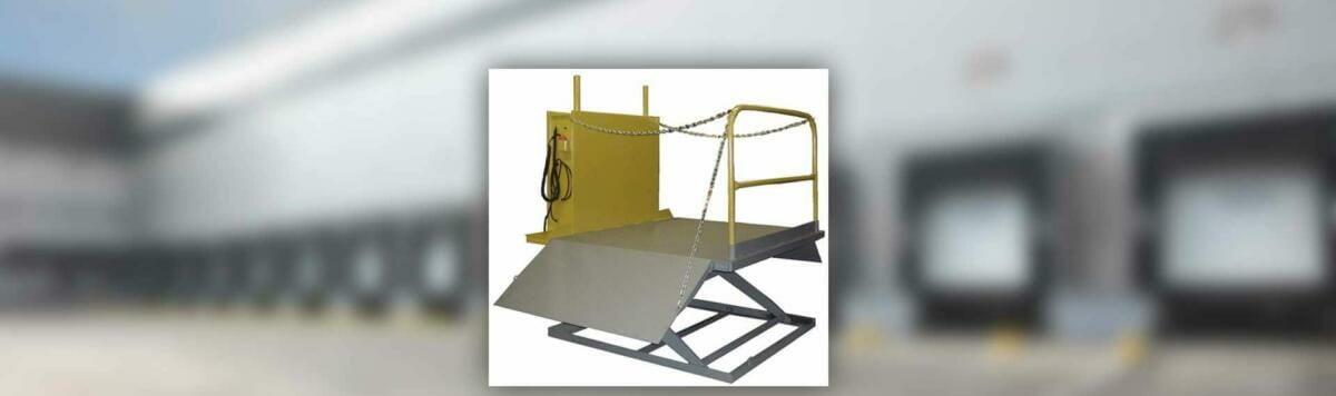 Copperloy® dock lift surface mount