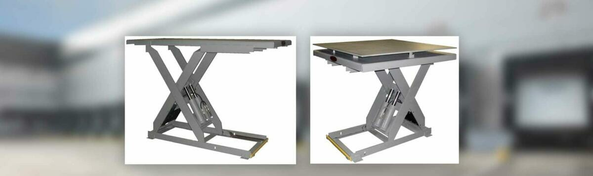 Copperloy® tables for dock lifts