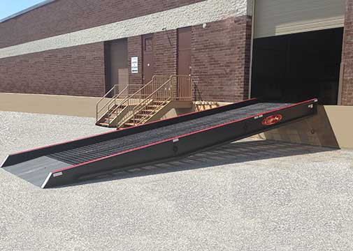 Dock to Ground Ramps - Yard Ramps