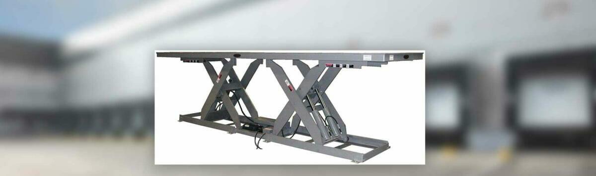 Copperloy® lift table double long