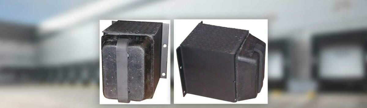 Copperloy® rubber dock bumpers / bumper guards