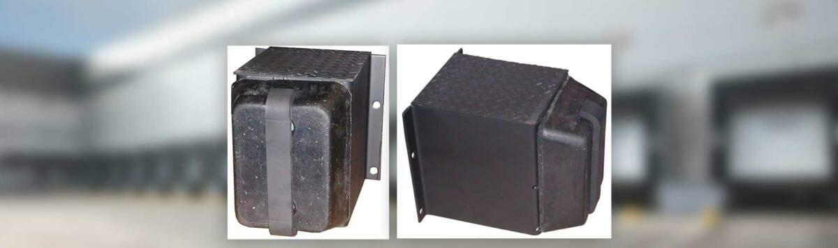 Copperloy® rubber dock bumpers / bumper guards