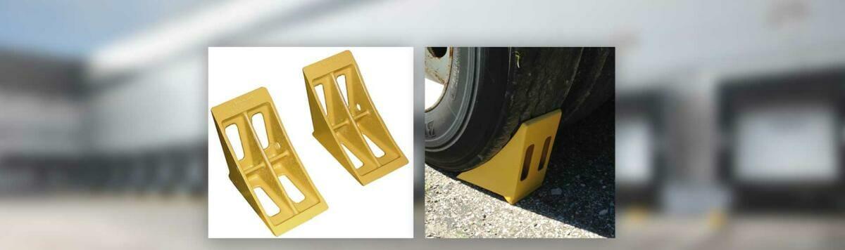 Copperloy® wheel chocks